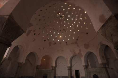 Se descubre un hammam andalusí del siglo XII bajo un…