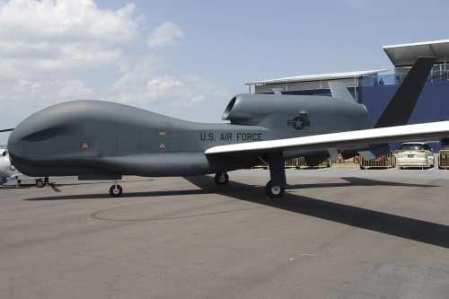 Un dron de vigilancia estadounidense se estrella en el norte…