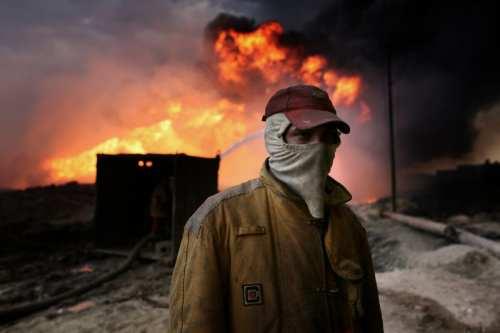 Irán: 10 equipos de bomberos contienen el incendio en los…
