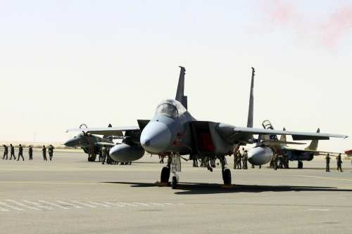 La coalición saudí lanza ataques aéreos contra la capital yemení…