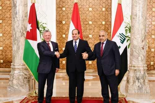 Egipto, Jordania e Irak crearán una ruta terrestre para aumentar…
