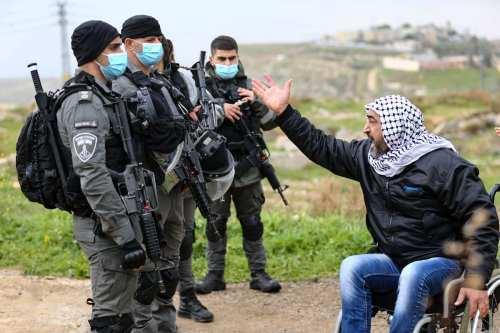 Israel derriba la casa de un palestino discapacitado