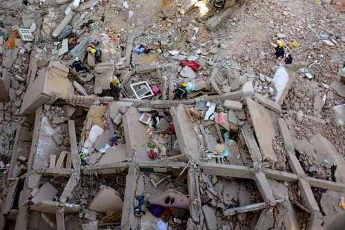 La cifra de muertos por el derrumbe del edificio en…