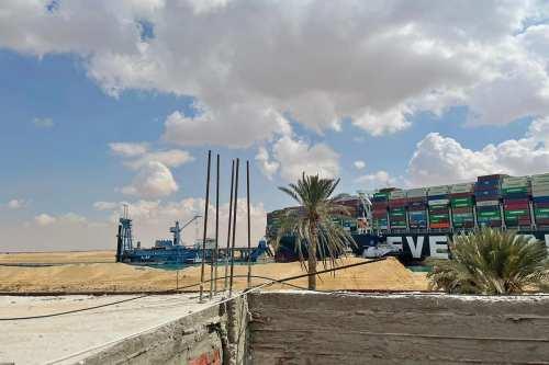 Turquía está dispuesta a ayudar a desencallar el barco del…