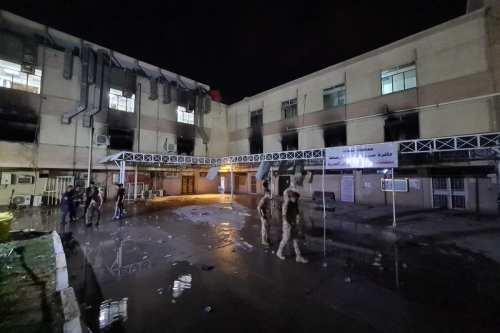 El número de muertos en el incendio del hospital de…