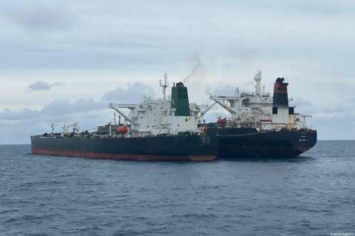 Se extingue un incendio en un petrolero frente a Siria…