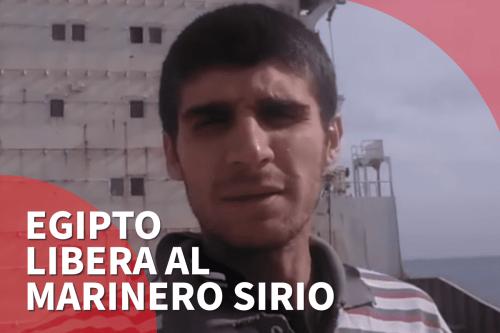 Un marinero sirio es liberado tras 4 años en un…