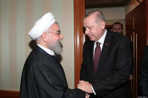 Los líderes de Turquía e Irán discuten los ataques israelíes…