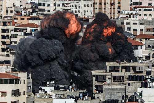 El número de muertos en los ataques israelíes contra la…