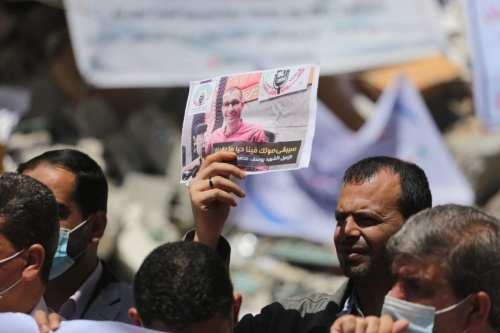 Gaza protesta por los ataques de Israel contra los medios…