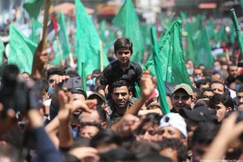 Concentraciones en Gaza en apoyo a Jerusalén y Al-Aqsa