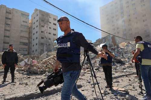 170 periodistas palestinos heridos en agresiones israelíes