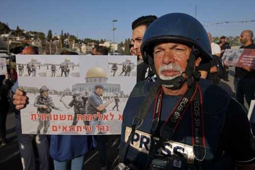 Israel sigue acosando a periodistas palestinos