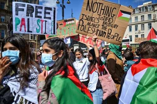 Los palestinos no queremos antisemitas en nuestros mítines