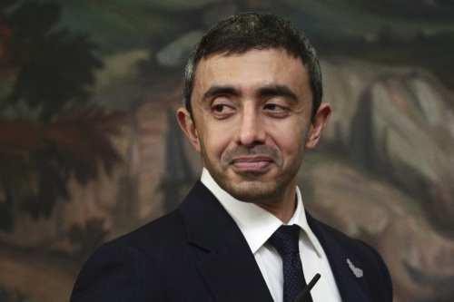 El ministro de Asuntos Exteriores de los Emiratos Árabes dice…