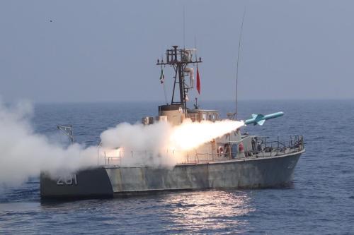 El buque más antiguo de la marina iraní se hunde…