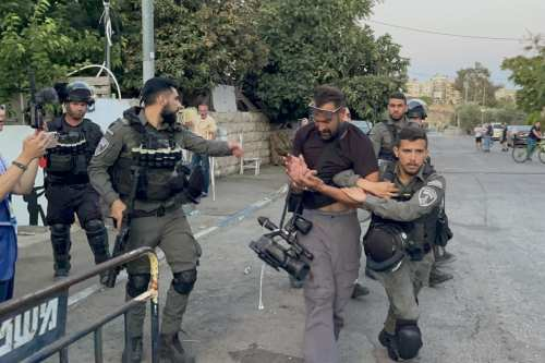 Israel muestra su verdadera cara