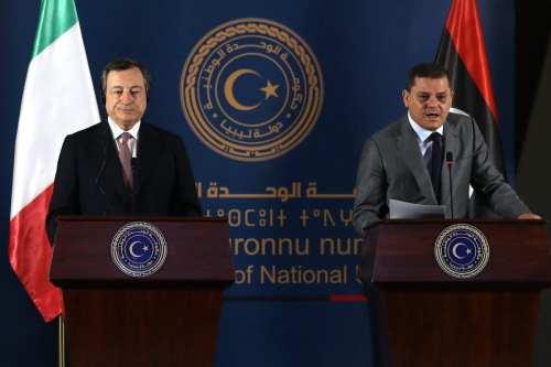 Diputados de Italia y Libia se reúnen para abordar la…