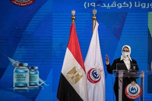 Egipto produce el primer lote de vacunas contra el coronavirus…