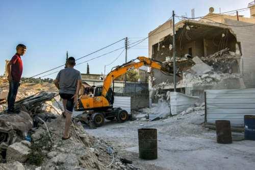ONU: Israel demolió y confiscó 24 edificaciones en Cisjordania en…