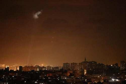 El ejército israelí ataca las posiciones de Hamás en Gaza
