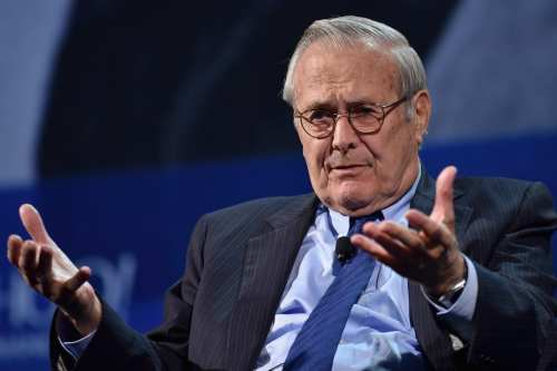 Muere el arquitecto de la guerra de Irak, Donald Rumsfeld,…