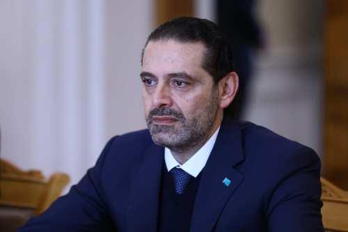 El primer ministro designado del Líbano, Saad Hariri, dimite