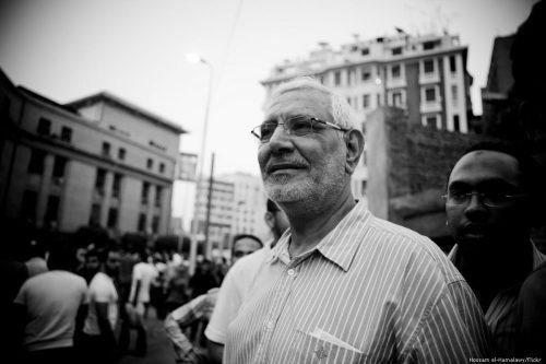 Egipto: el ex candidato presidencial Aboul Fotouh se enfrenta a…