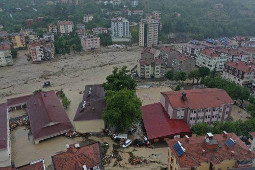 Inundaciones en las provincias turcas del Mar Negro