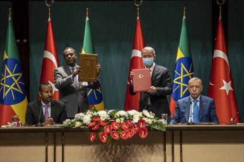Erdogan apoya la resolución pacífica del conflicto de Tigray