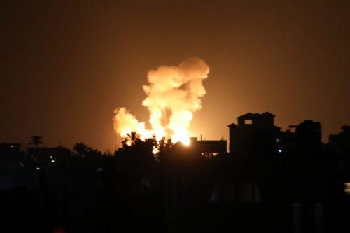 Israel lanza ataques aéreos contra Gaza