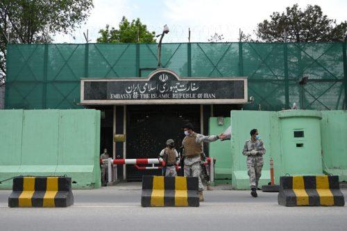 La embajada de Irán en Afganistán sigue abierta y activa