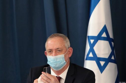 Gantz anuncia un préstamo para la Autoridad Palestina