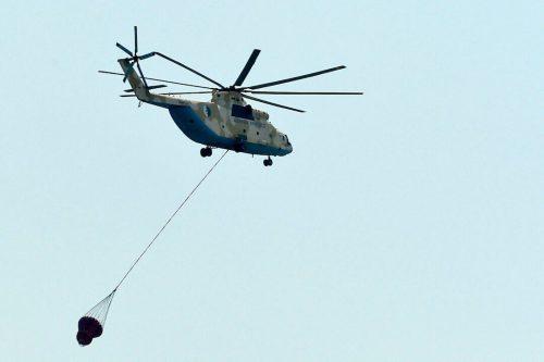 Argelia alquila 2 helicópteros a la UE para ayudar a…