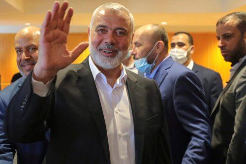 Haniyeh es reelegido como jefe del grupo islamista palestino Hamás