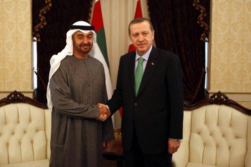 Erdogan y Bin Zayed hablan de las relaciones entre Turquía…