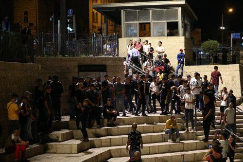 La policía israelí reprime las manifestaciones de apoyo a los…