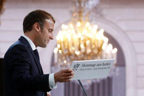 """Macron pide """"perdón"""" a los argelinos que lucharon por Francia…"""
