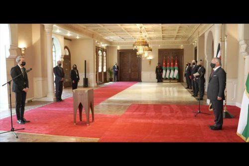 Jordania: el nuevo embajador israelí presenta sus credenciales