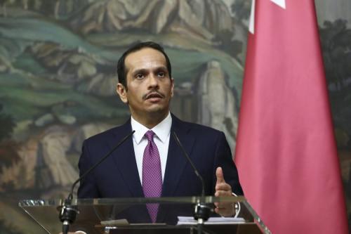El nuevo embajador de Egipto en Qatar presenta sus credenciales