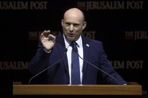 Las declaraciones de Bennett son hostiles y anti-paz