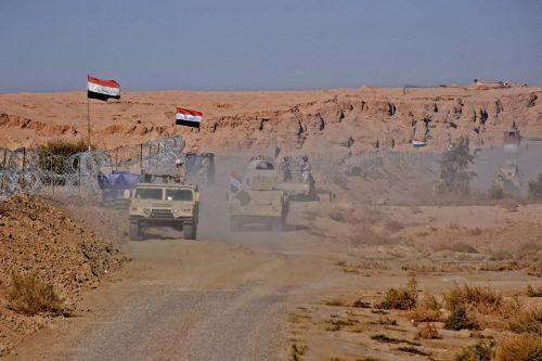 Irak construye 650 km de valla fronteriza con Siria