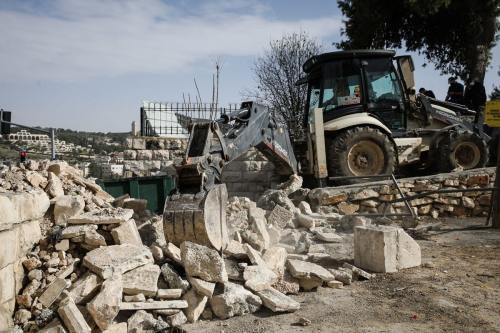 Israel sigue arrasando tumbas palestinas en Jerusalén Este