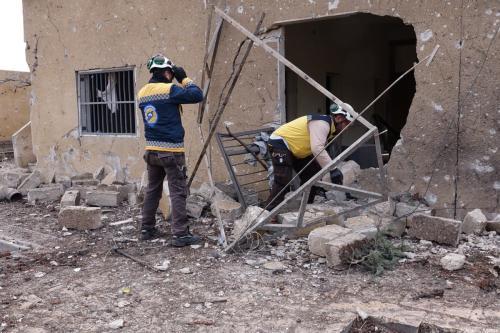 Turquia demanda compromisso da Rússia para suspender os ataques contra Idlib, na Síria