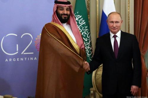 Rússia e Arábia Saudita concordam em fortalecer laços para estabilizar preços do petróleo