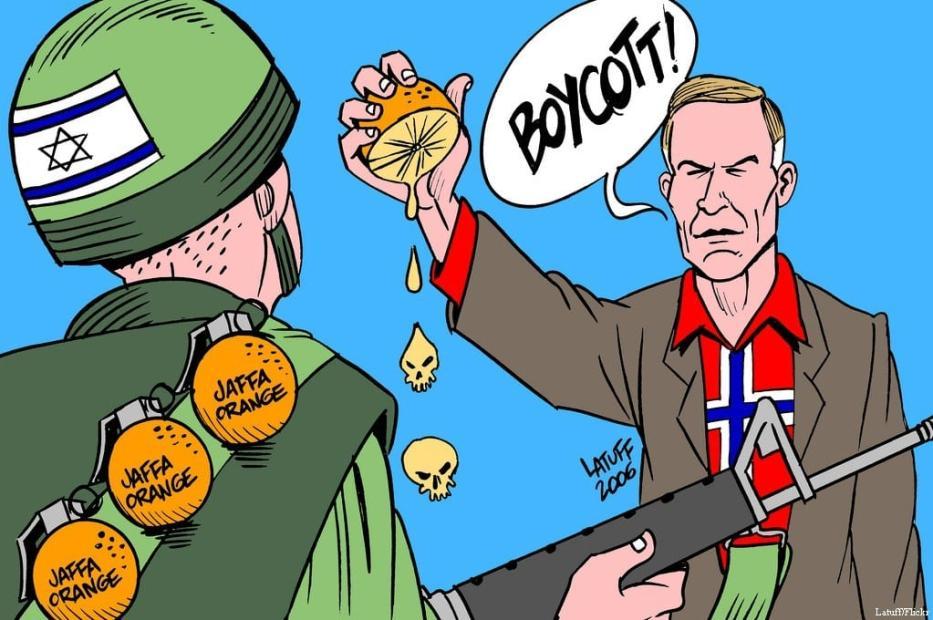 Boicote a Israel - Cartum [Latuff/ Flickr]