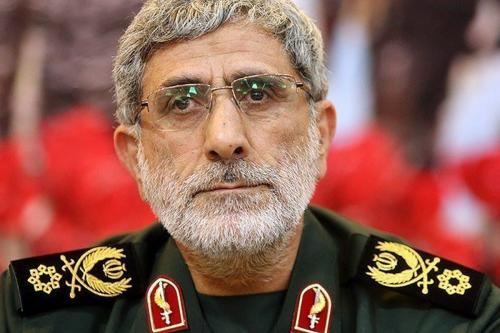 O Comandante da Força Quds do Irã Esmail Ghaani, 30 de março de 2020 [Twitter]