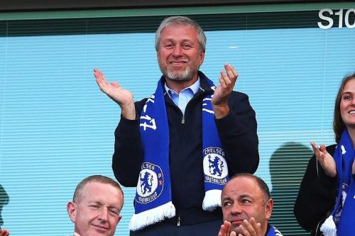 Bilionário russo-israelense Roman Abramovich, em 2 de junho de 2020 [Uber Chelsea FC/Twitter]