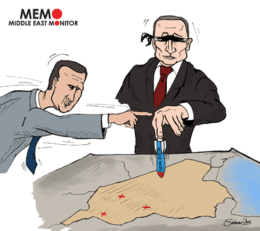 Putin ataca cegamente a Síria [Sarwar Ahmed / Monitor do Oriente Médio]