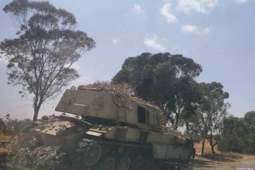 Exército líbio apreendeu na sexta-feira armas, munições e veículos comprados pelos Emirados Árabes Unidos pelo general rebelde Khalifa Haftar. [Operação Vulcão da Fúria / Divulgação/ Agência Anadolu]